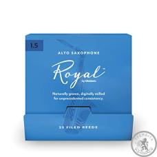 Тростини для альт саксофона D'ADDARIO Royal - Alto Sax #1.5 - 25 Pack
