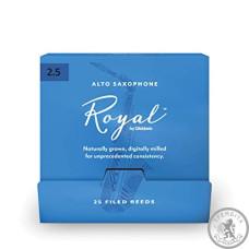 Тростини для альт саксофона D'ADDARIO Royal - Alto Sax #2.5 - 25 Pack