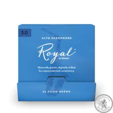 Тростини для альт саксофона D'ADDARIO Royal - Alto Sax #3.0 - 25 Pack