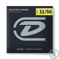 Струни электро (11-56) Dunlop DEN1156 Electric Nickel Performance+ 11-56