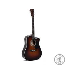 Акустическая гитара Sigma DTC-1E-SB