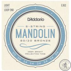 Струни для мандоліни D'ADDARIO EJ62