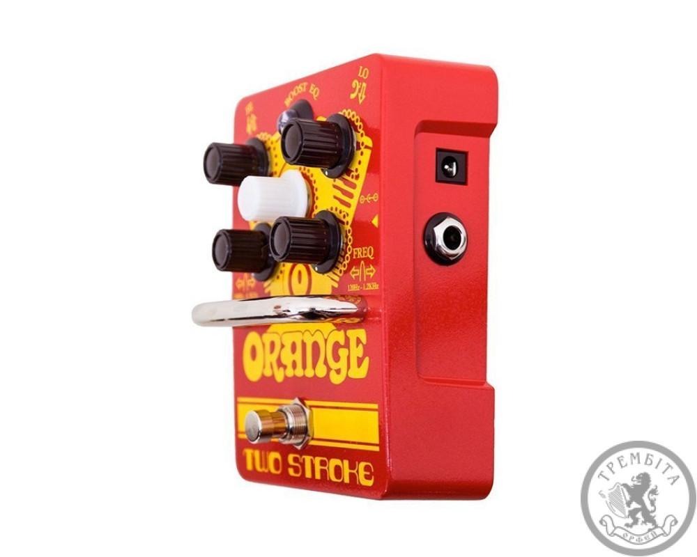 Попередній підсилювач Orange Two Stroke Boost EQ Pedal
