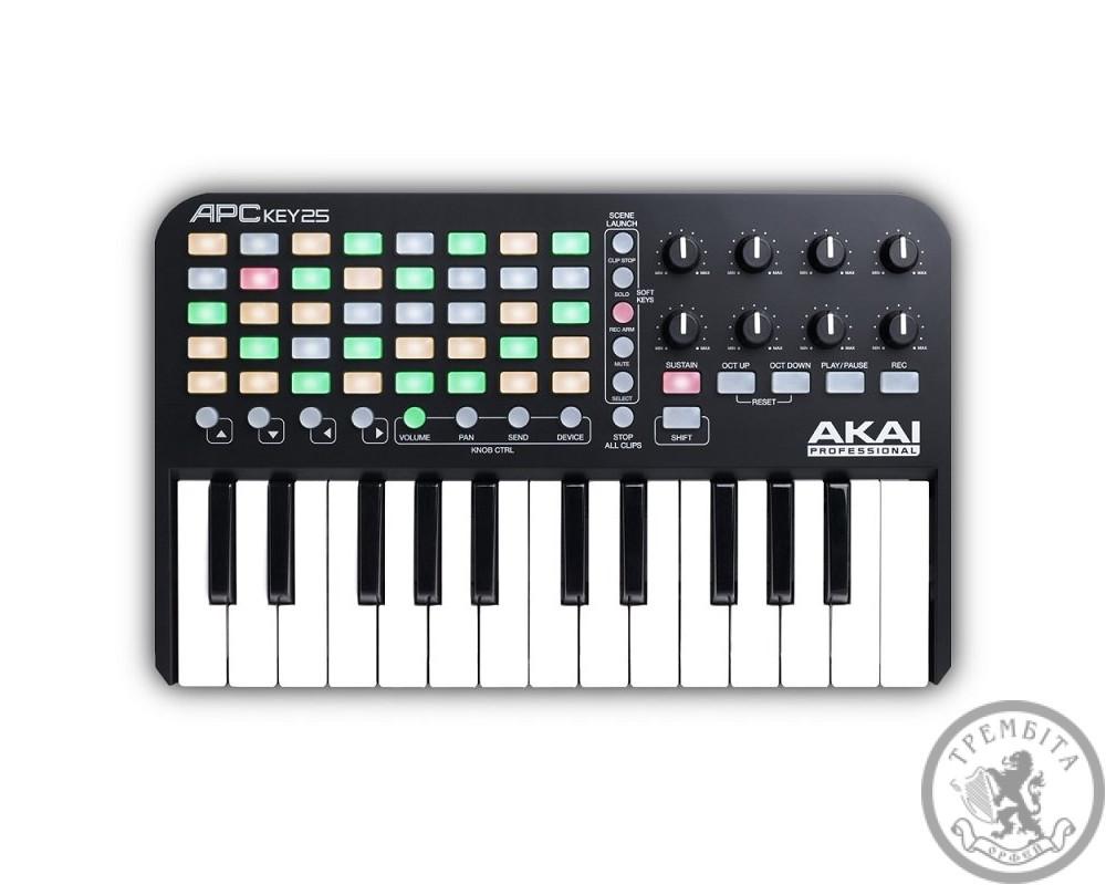 MIDI-клавіатура AKAI APC KEYS 25 MIDI