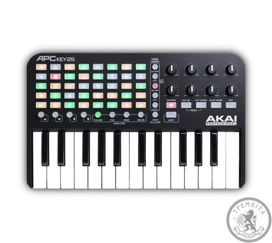 Клавіатура AKAI APC KEYS 25 MIDI