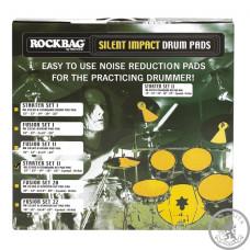 Набір тренувальних педів для барабанної установки ROCKBAG RB22195