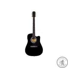 Акустическая гитара SQUIER by FENDER SA-105CE BLACK