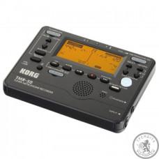 Цифровой компактний тюнер-метроном-рекордер,  Korg TMR-50-BK  колір чорний