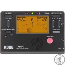 Тюнер-метроном KORG TM-60-BK