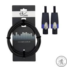 Кабель акустичний Alpha Audio (Speakon/Speakon) 6м