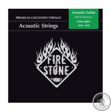 Струни для акустичної гітари  Fire&Stone бронза
