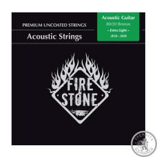Струни для акустичних гітар Fire&Stone 80/20 Bronze Extra light