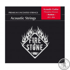 Струни для акустичної гітари  Fire&Stone Phosphor Bronze Medium