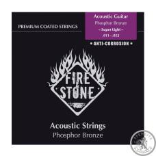 Струни для акустичної гітари  Fire&Stone Set Phosphor Bronze Super Light