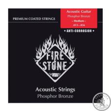 Струни для Акустичних Гітар  Fire&Stone Set Phosphor Bronze Light
