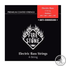 Струни для бас-гітари Fire&Stone нікель (045-105)