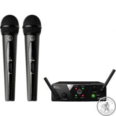 AKG WMS40 Mini2 Vocal Set BD ISM2/3 EU/US/UK (864.375 - 864.850)