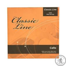 Струни для віолончелі Classic Line 1/2