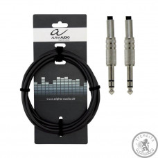 Кабель інструментальний Alpha Audio jack x2 (3м)