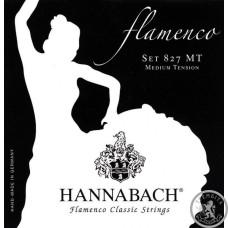 Струни для класичної гітори Hannabach 827НT Flamenco classic