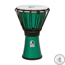 "Джембе 7"" Toca Freestyle Colorsound  Metallic Green TFCDJ-7MG"