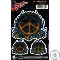 Наклейка на Гітару PLANET WAVES GT77019 Peace Tribal