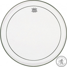 REMO PINSTRIPE 22'' CLEAR BASS Подвійний прозорий пластик серії Pinstripe, діаметр 22''