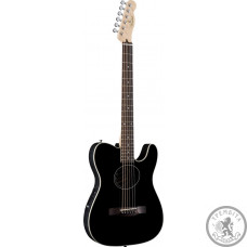 Гитара электроакустическая FENDER TELECOUSTIC BLACK