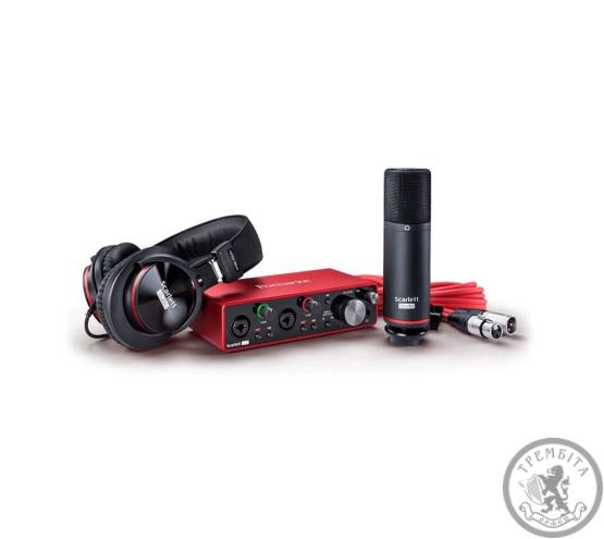 Аудіоінтерфейс FOCUSRITE Scarlett 2i2 Studio 3rd Gen Комплект для звукозаписи