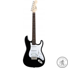 Електрогітара Fender Squier Bullet Stratocaster HSS BK