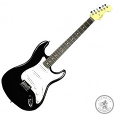 SQUIER by FENDER MM STRAT HT BLACK