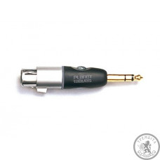 "Перехiдник 1/4"" Jack TRS Male - XLR Female PLANET WAVES PWP047AA"