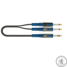 QUIK LOK RKSA100-2 Інсертний кабель стеріо Джек - 2 моно Джека, 2 м