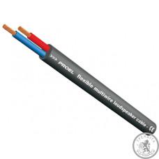 Кабель для акустичних систем PROEL HPC610BK  круглий, 2х1,5мм2, діам.7,4мм, чорний.