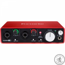 FOCUSRITE SCARLETT 2I2 NEW Аудиоинтерфейс
