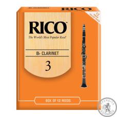 RICO Rico - RCA1230 - Bb Clarinet #3.0 - 12 Box