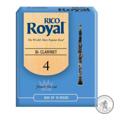 RICO Rico Royal - Bb Clarinet #4.0 - 10 box