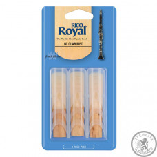 RICO Rico Royal - Bb Clarinet #3.0 - 3-Pack