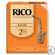 RICO Rico - RJA1225 - Alto Sax #2.5 - 12 Box