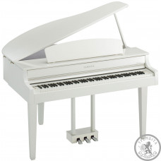 Цифровые пианино Clavinova рояль YAMAHA CLP665GP (Polished White)