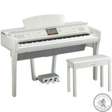 Цифрові Піаніно Clavinova YAMAHA CVP709PWH (Polish White)
