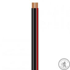 SOMMER SC-NYFAZ Акустичний кабель 2x0,75 мм², колір: чорний