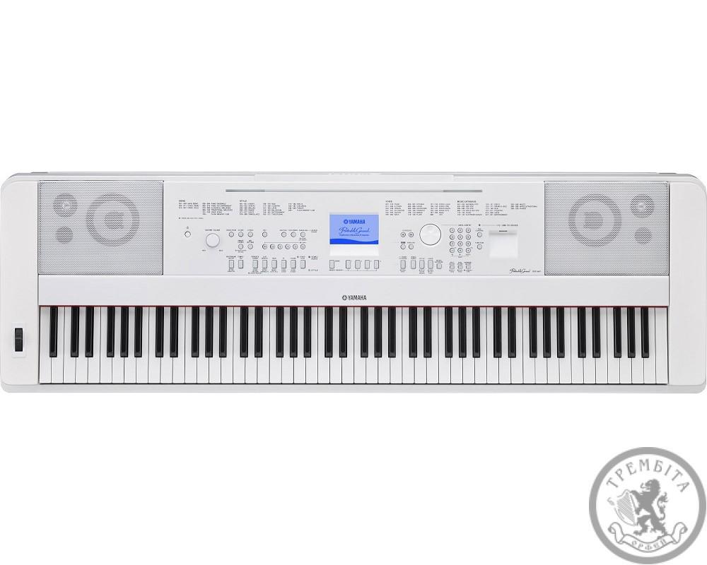 Цифрове піаніно PSR DGX 660 White PortableGrand