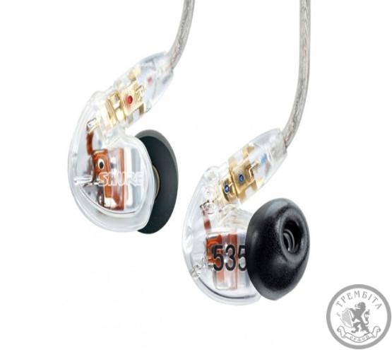 Shure SE535CL професійні звукоізолюючі міні навушники купити ... 1af317f3a69d7