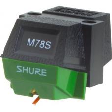 Shure M78S головка, S-кріплення для Groove, 2,5 сферична, 1,5-3г