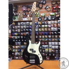 Бас-гитара Cort PJ bridge Tradit-l PowerSound P-bass Black