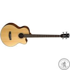 Бас гітара акустична Cort AB850F NAT з чохлом