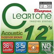 Струни для акустичної гітари (12-56) CLEARTONE 7423 Acoustic Phosphor Bronze Bluegrass 12-56