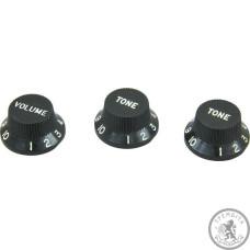 Ручка пластикова для стратy (набір) DiMarzio DM2111 Black