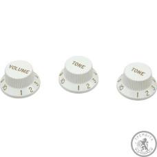 Ручка пластикова для страта (набір) DiMarzio DM2111 White